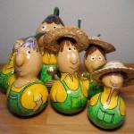 Gartenmänner Gruppe